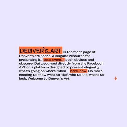 Denvers Art