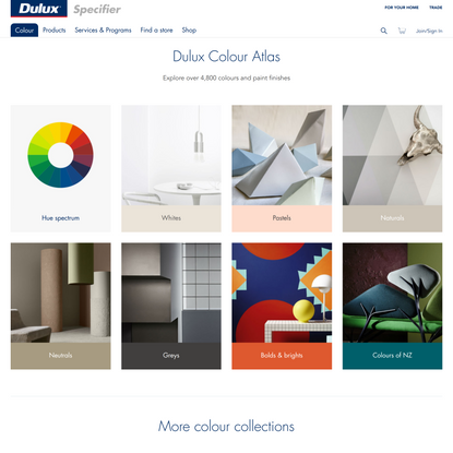 Dulux Colour Guide, Colour Collections & Trends For Specifiers | Dulux