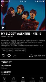 NTS app
