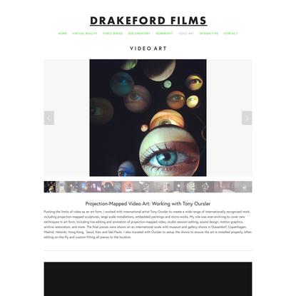 Video Art — Drakeford Films