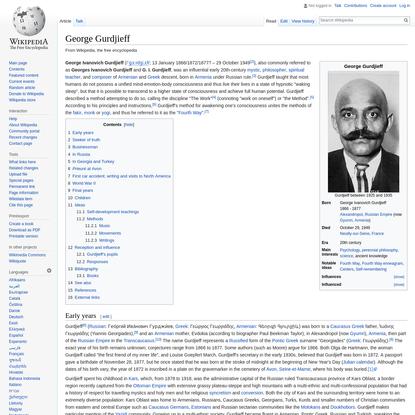 George Gurdjieff - Wikipedia