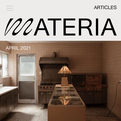 MATERIA Magazine