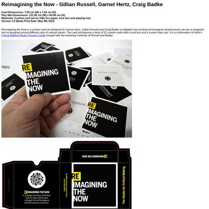 Reimagining the Now (in development) - Garnet Hertz