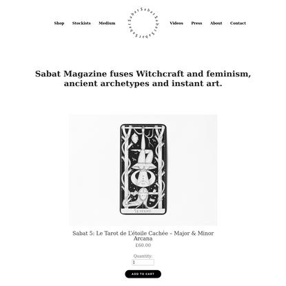 Shop - Sabat Magazine