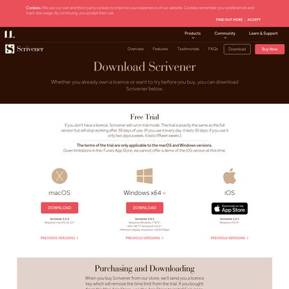 Download Scrivener