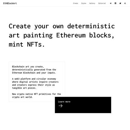 EthBlock.art