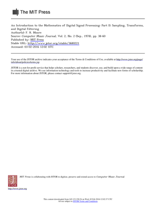 anintroductiontothemathematicsofdigitalsignalprocessingpart2.pdf