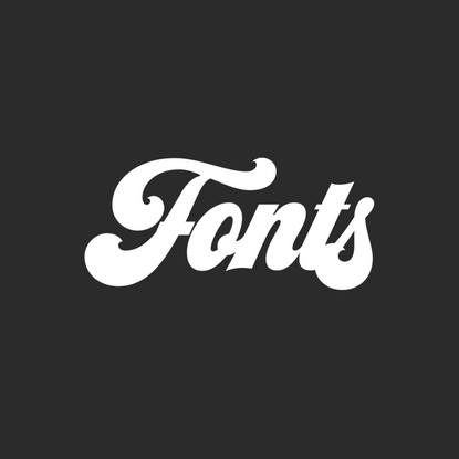 Fonts for sale