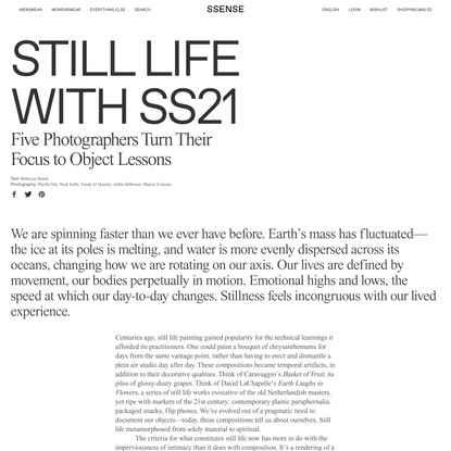 Still Life with SS21