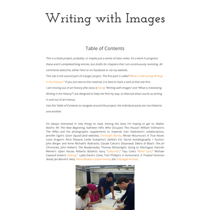 Writing with Images