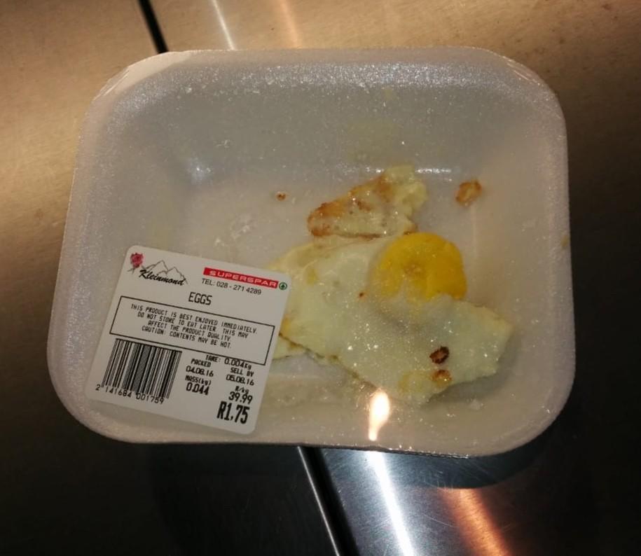 R1.75 Egg from Kleinmond Superspar