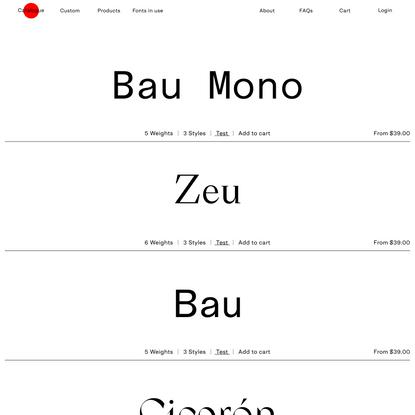 Catalogue – Nodo Typefoundry