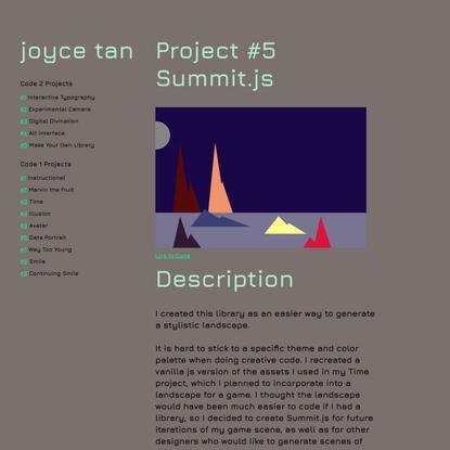 Joyce | summit.js