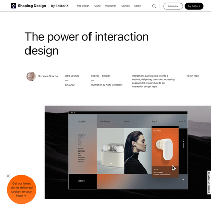 The Power of Interaction Design