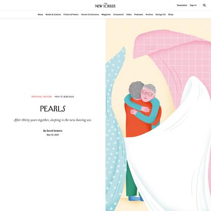 """Pearls,"" a New Essay by David Sedaris"