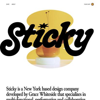 Sticky Glass
