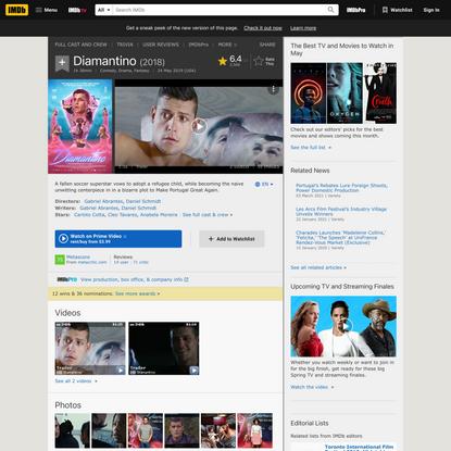Diamantino (2018) - IMDb
