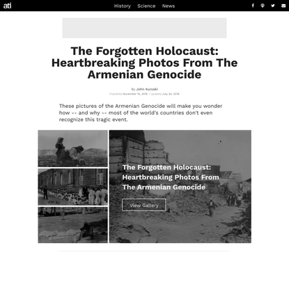 The Forgotten Holocaust: 44 Heartbreaking Photos From The Armenian Genocide