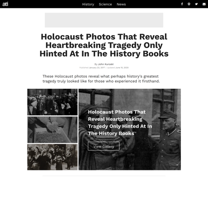 The Tragedy And Perseverance Of The Holocaust, In 44 Heartbreaking Photos