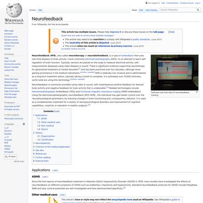 Neurofeedback - Wikipedia