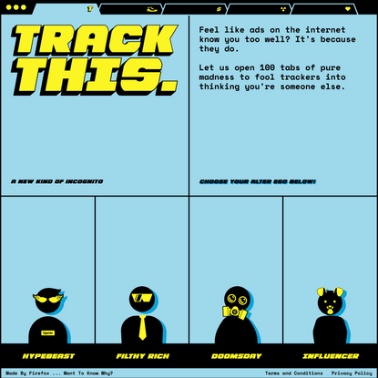 Track This | A new kind of Incognito