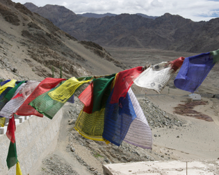Prayer Flags in Ladakh