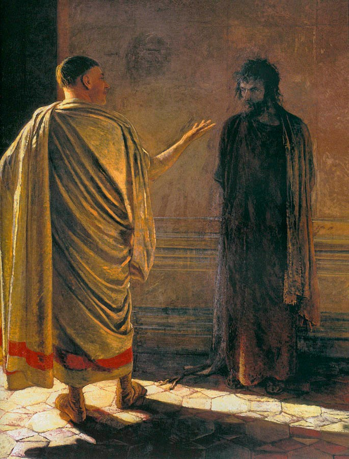 What is Truth?, by Nikolai Ge