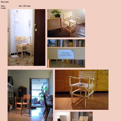 051 - DIY Chair