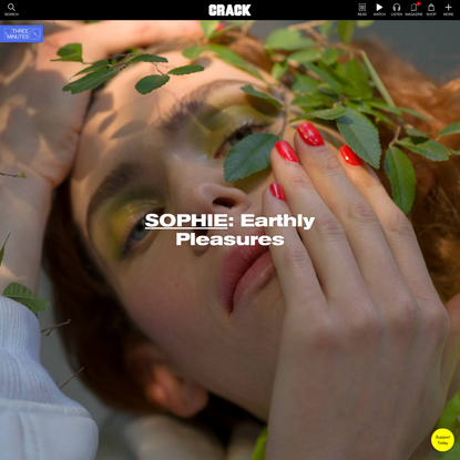 Cover Story: SOPHIE - Earthly Pleasures