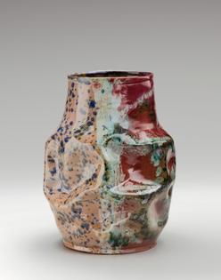George E. Ohr, Vase, ca. 1897–1900