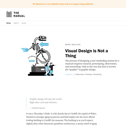 Visual Design is Not a Thing