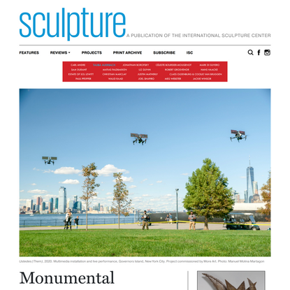 Monumental Trickery: A Conversation with Krzysztof Wodiczko - Sculpture