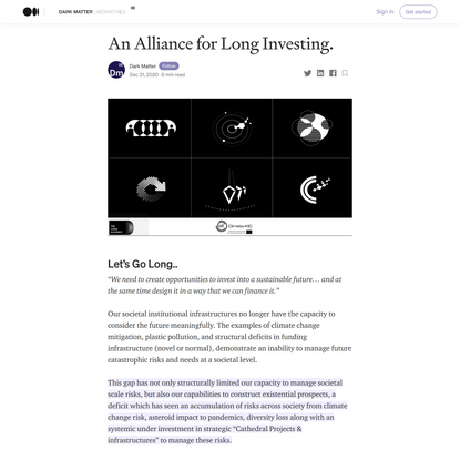 An Alliance for Long Investing.