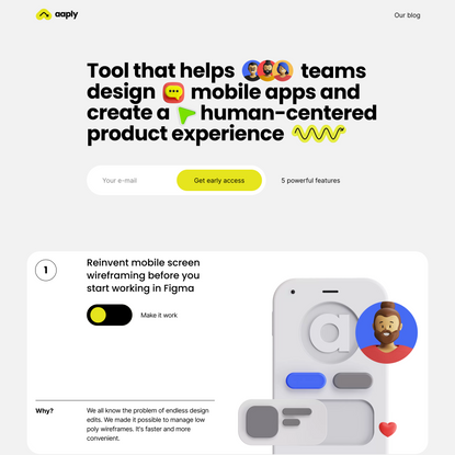 Aaply — Mobile app design tool