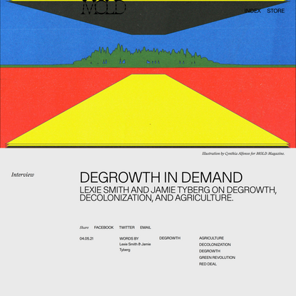Degrowth in Demand - MOLD :: Designing the Future of Food