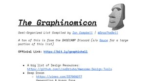 The Graphinomicon