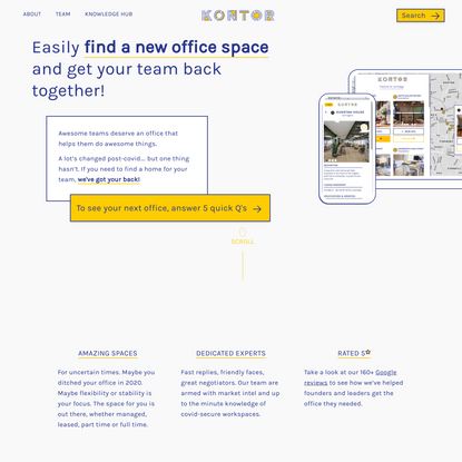 Home - Find your perfect office space