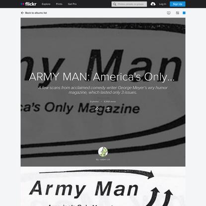 ARMY MAN: America's Only Magazine
