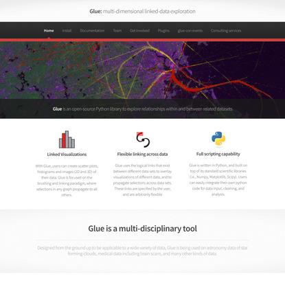 Glue: multi-dimensional linked-data exploration