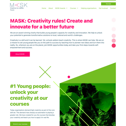 MASK Creativity for a Better Future