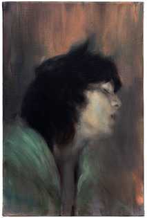 Paul P., Untitled, 2010, oil on canvas, 16.1 x 10.6 inches.