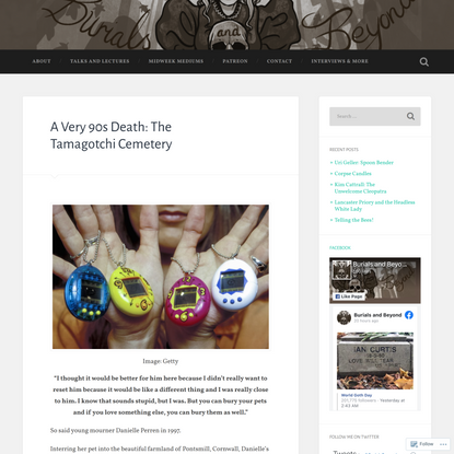 A Very 90s Death: The Tamagotchi Cemetery