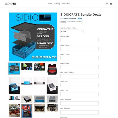 SIDIOCRATE Bundle Deals