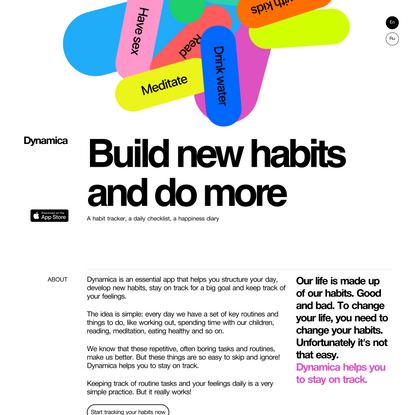 Dynamica – Habit tracker