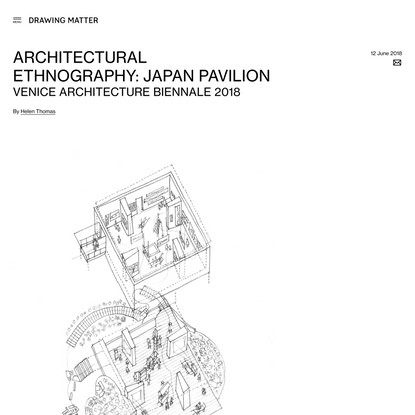 Architectural Ethnography: Japan Pavilion