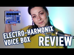 Electro-harmonix harmony machine and vocoder VOICE BOX review