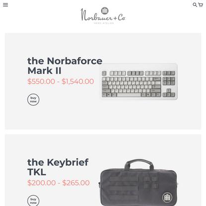 Norbauer & Co. - Luxury Keyboard Atelier