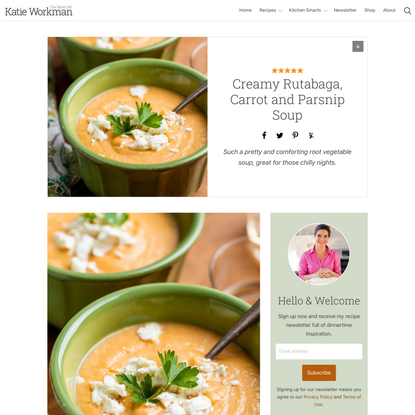 Creamy Rutabaga, Carrot and Parsnip Soup — The Mom 100