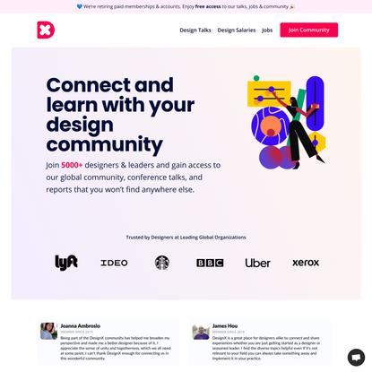 DesignX - A Leading Global Design Community