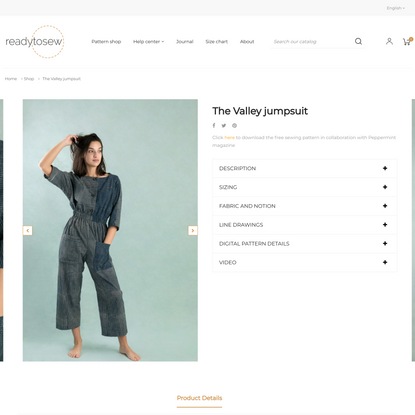 The Valley jumpsuit